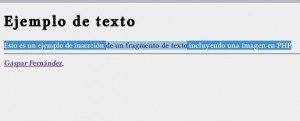 textexample