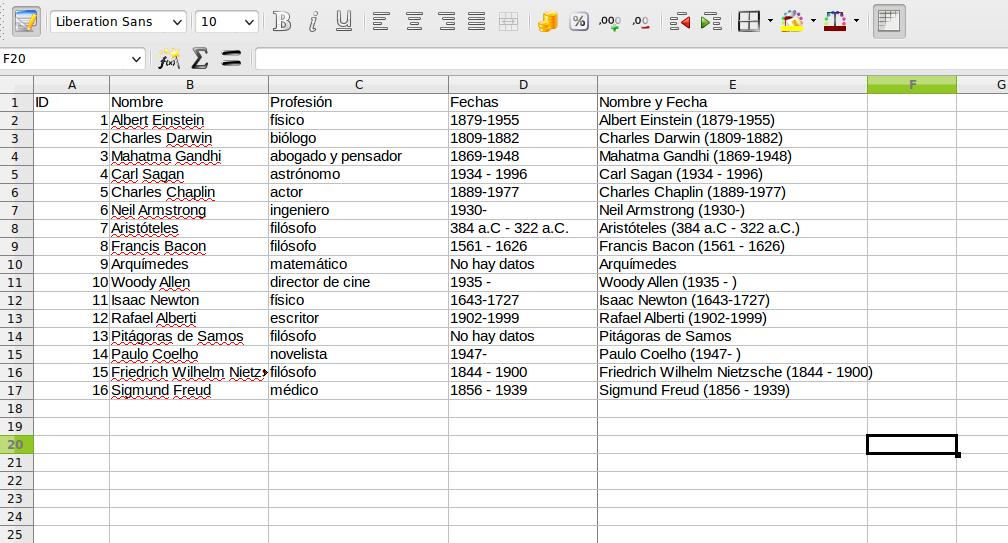 Intercambiar Datos Entre Hojas De C 225 Lculo Calc O Excel
