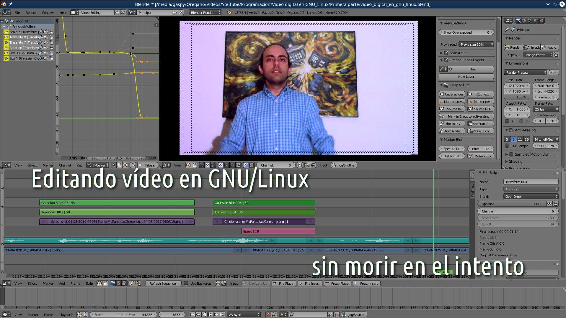 Edición de vídeo en GNU/Linux con software libre, ¿qué ...