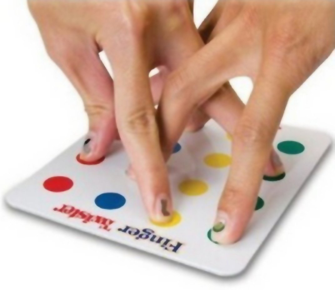 Finger Twister. Emacs, y tus dedos